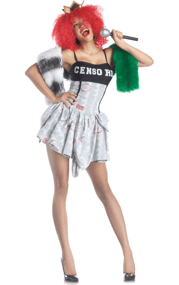 Censored Pop Superstar Costume