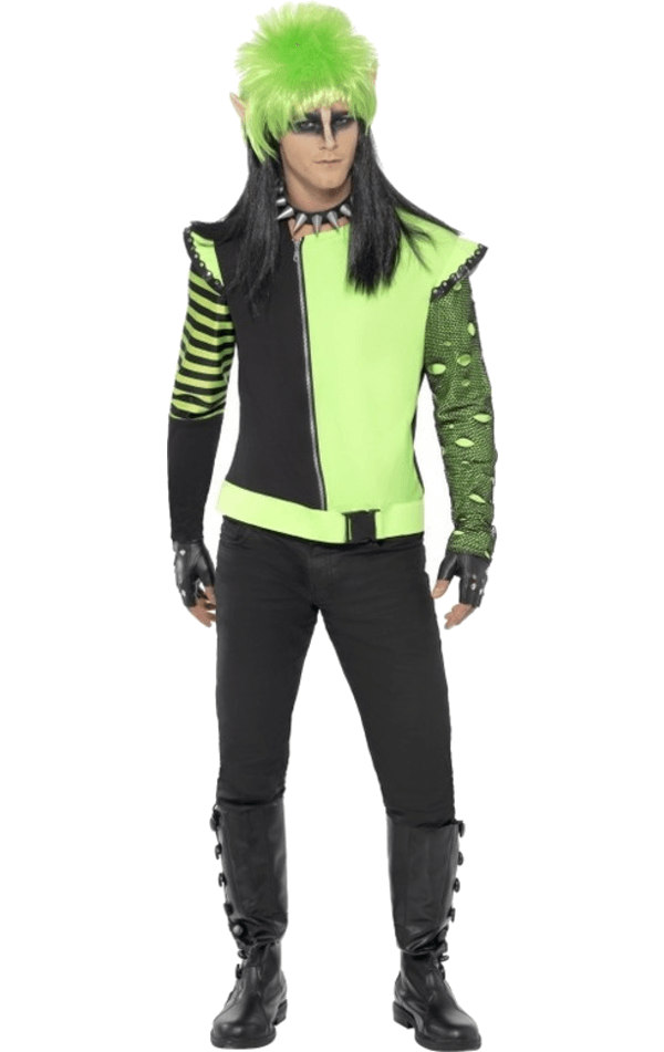 Men's Punk Ivy Elf Costume