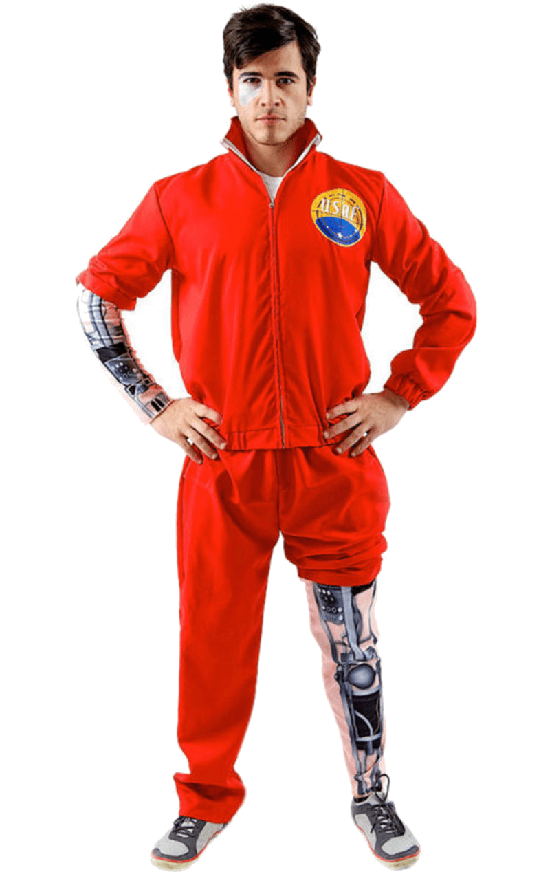 Adult Bionic Man Costume