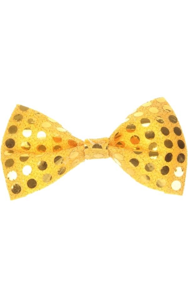 Gold Bow Tie (Sequin)