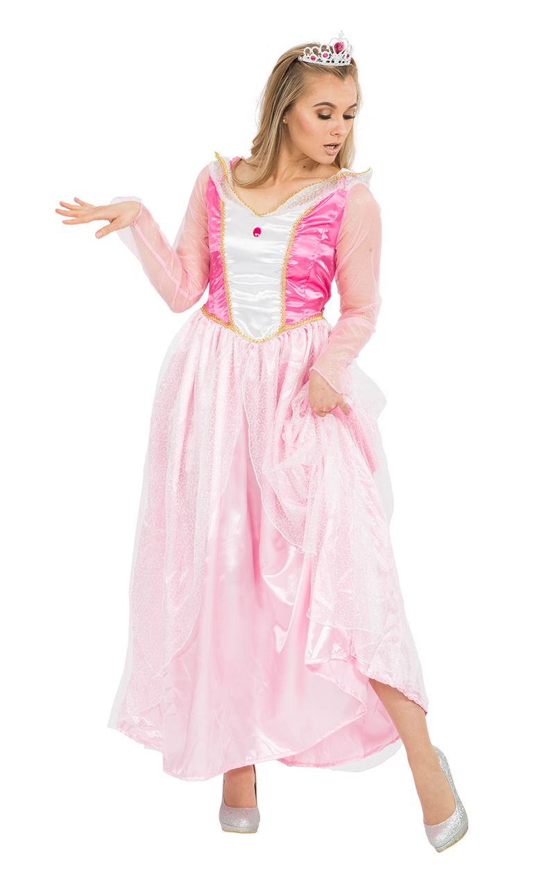 Adult Fairytale Princess Fancy Dress Costume