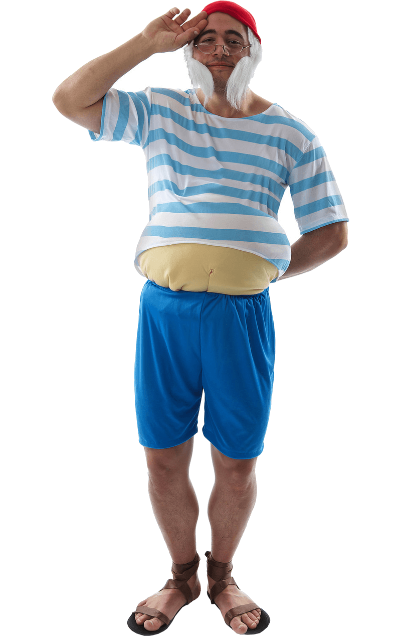 Adult Tubby Pirate Costume