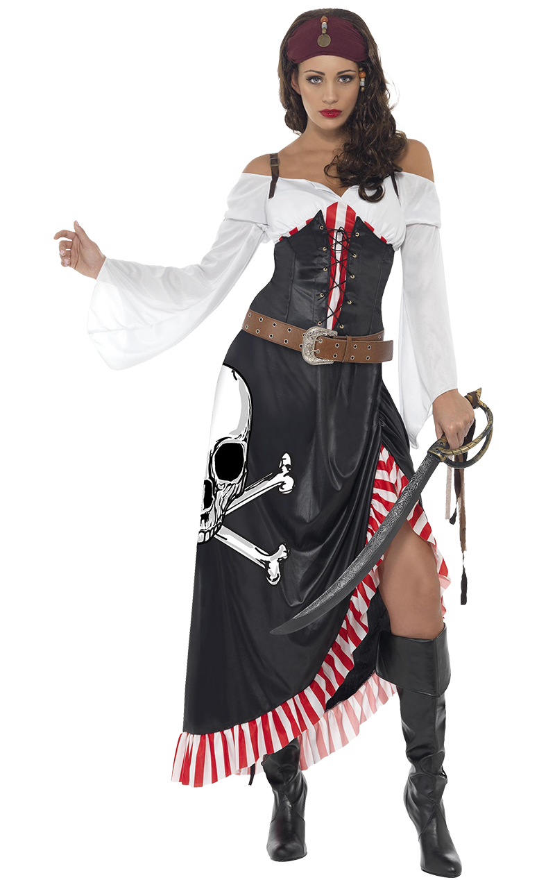 Sultry Pirate Lady Costume