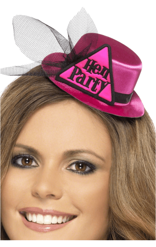Hen Party Mini Top Hat