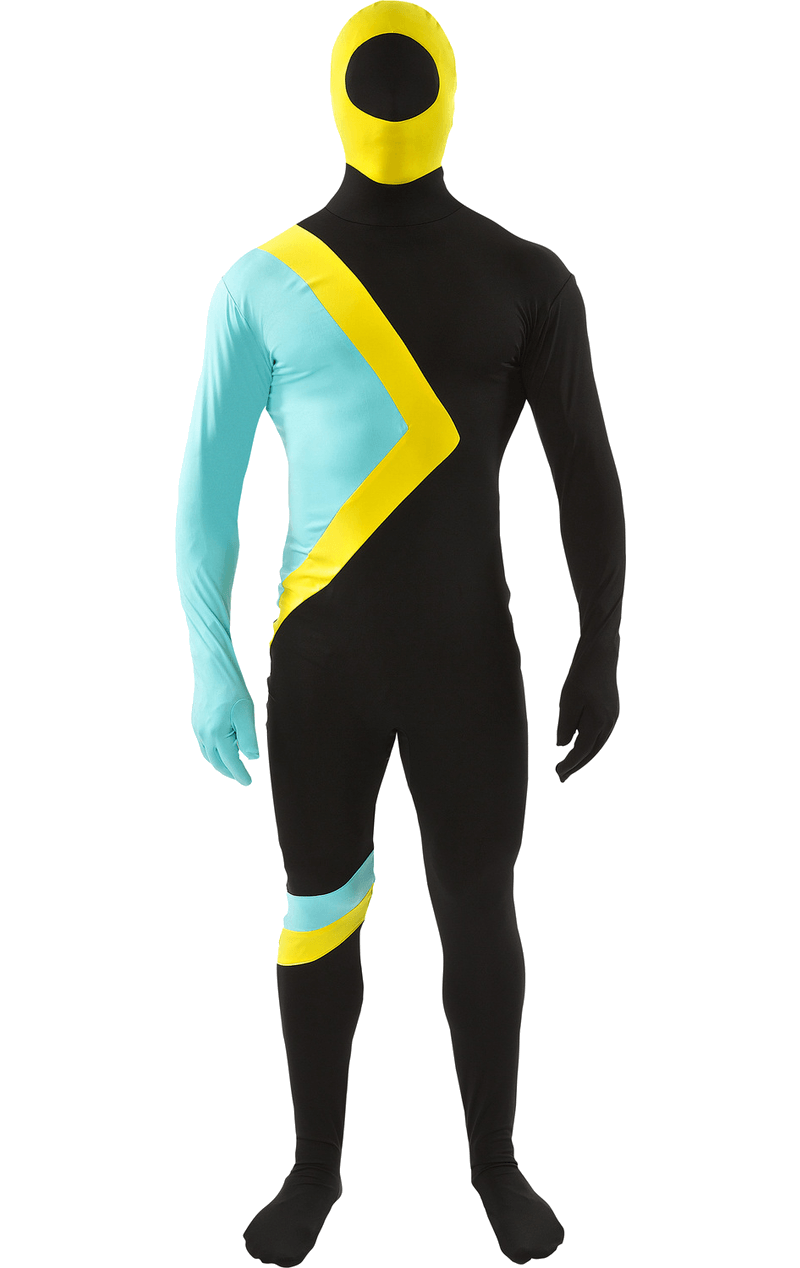 Adult Jamaican Bobsleigh Skinsuit
