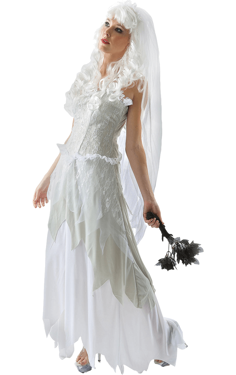 Ghostly Bride Halloween Costume