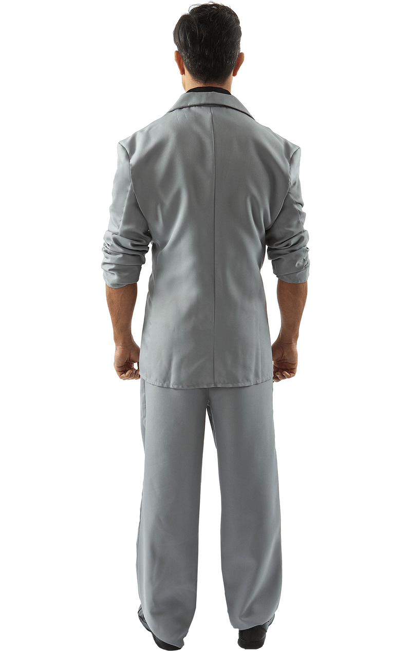 Adult Florida Detective (Black and Grey) Costume