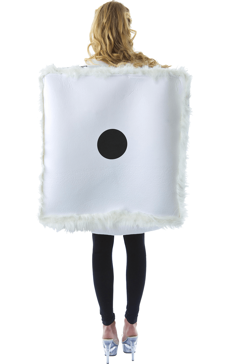 Adult Fluffy Dice Fancy Dress Costume