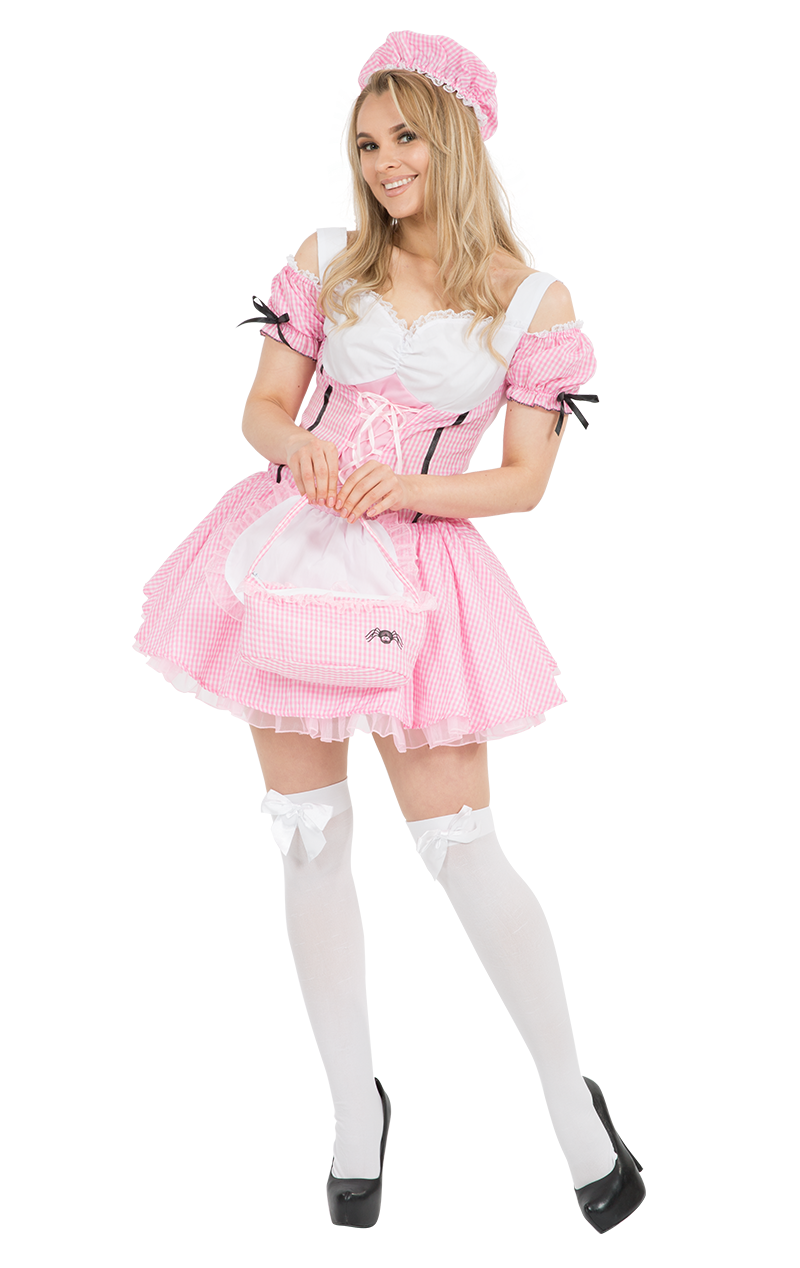 Adult Little Miss Muffet Fancy Dress Costume