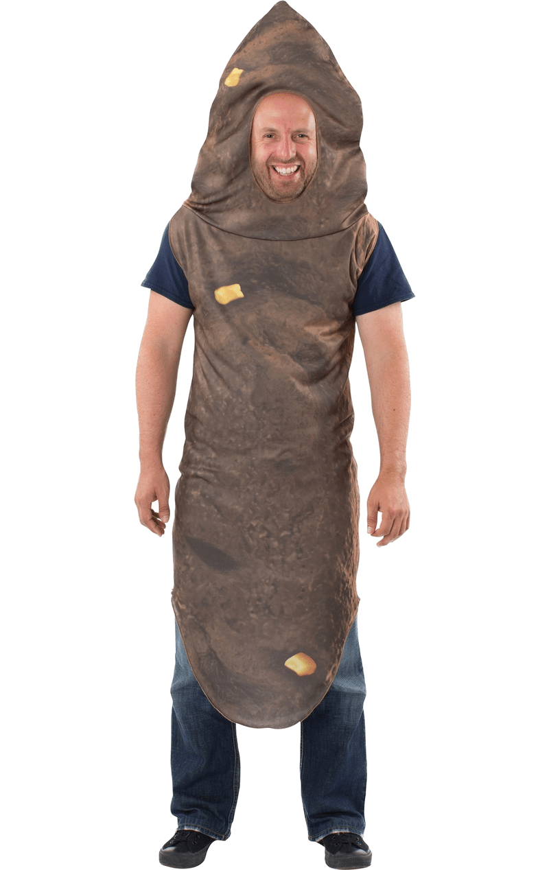 Adult Corny Number 2 Poo Costume
