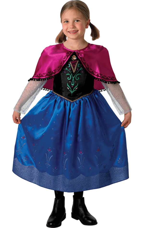 Disney Frozen Princess Anna Deluxe Costume