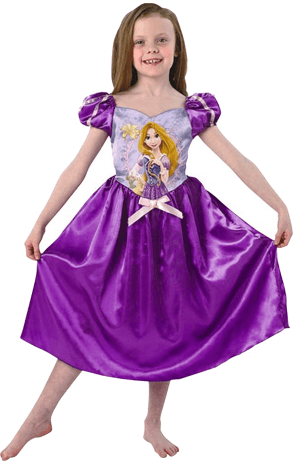 Child Disney Storytime Rapunzel Costume