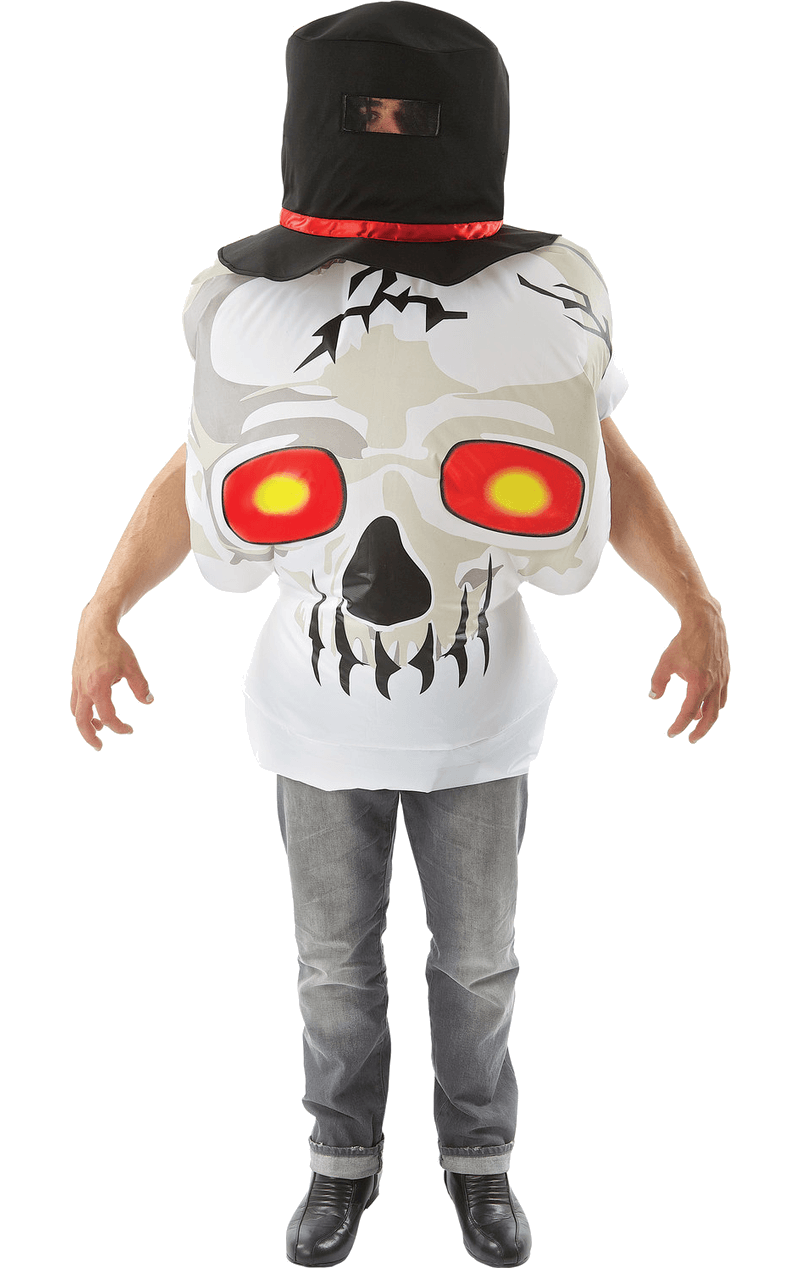Inflatable Skull Halloween Costume