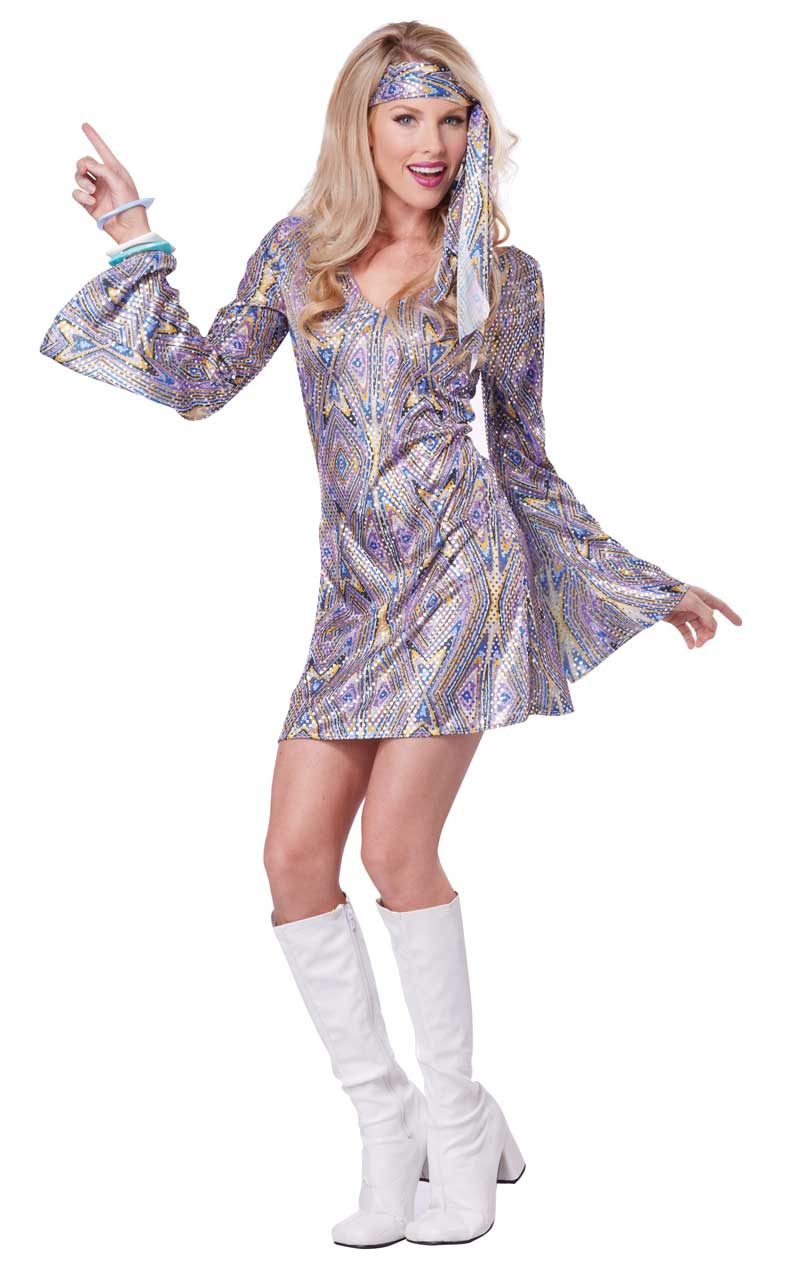 Ladies Disco Sensation Costume