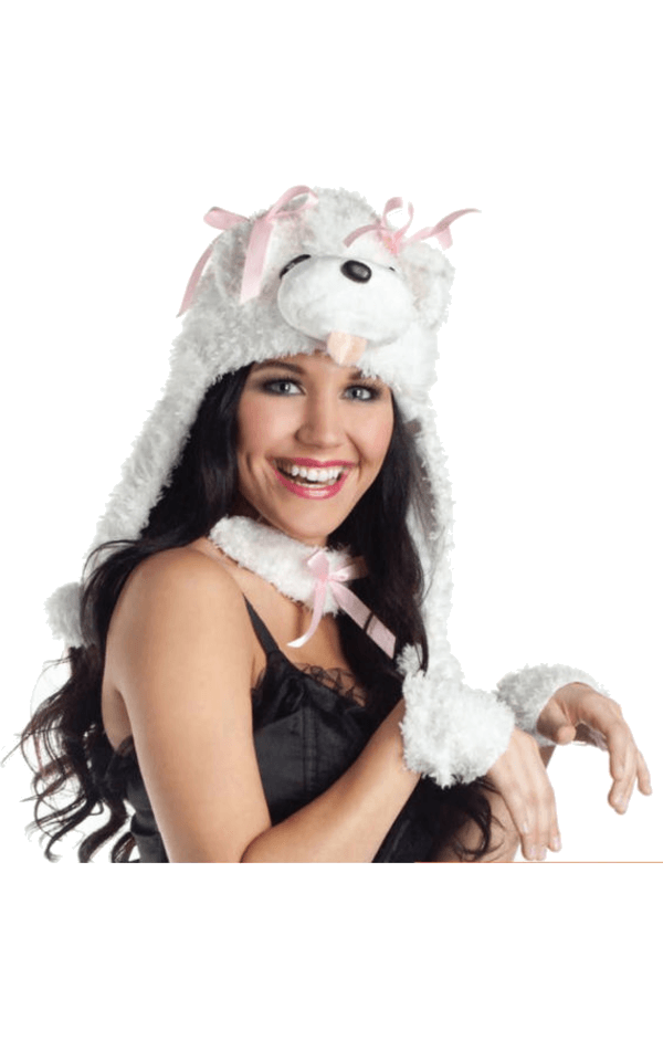 Curly Poodle Costume Kit