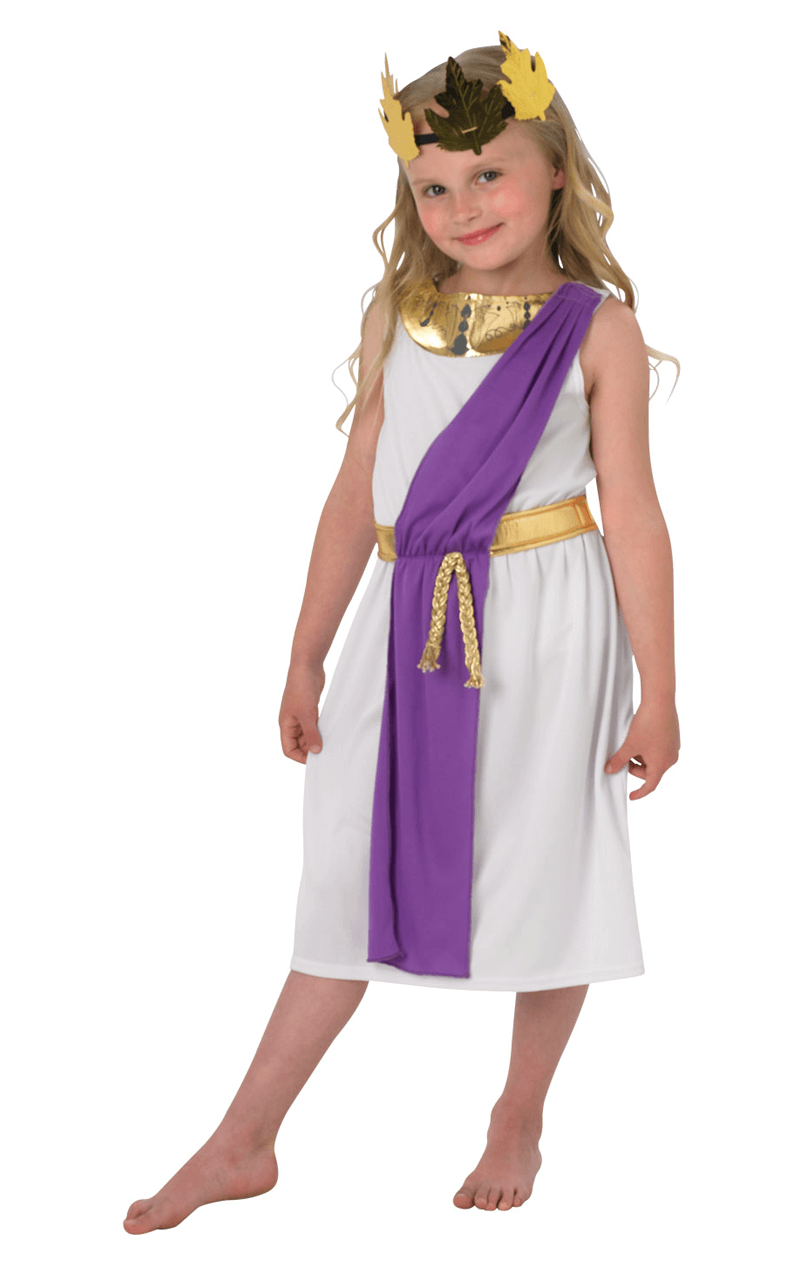 Child Roman Girl Costume