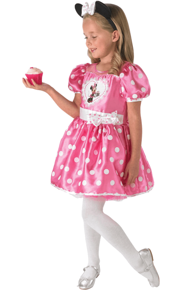 Child Deluxe Minnie Pink Cupcake Dress