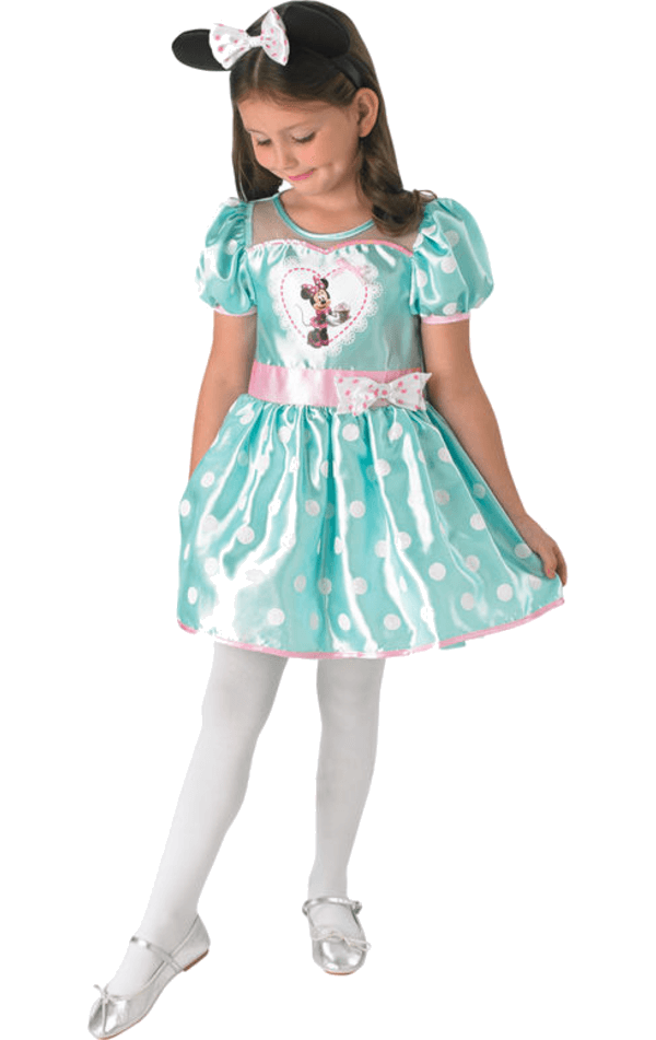 Child Deluxe Minnie Mint Cupcake Dress