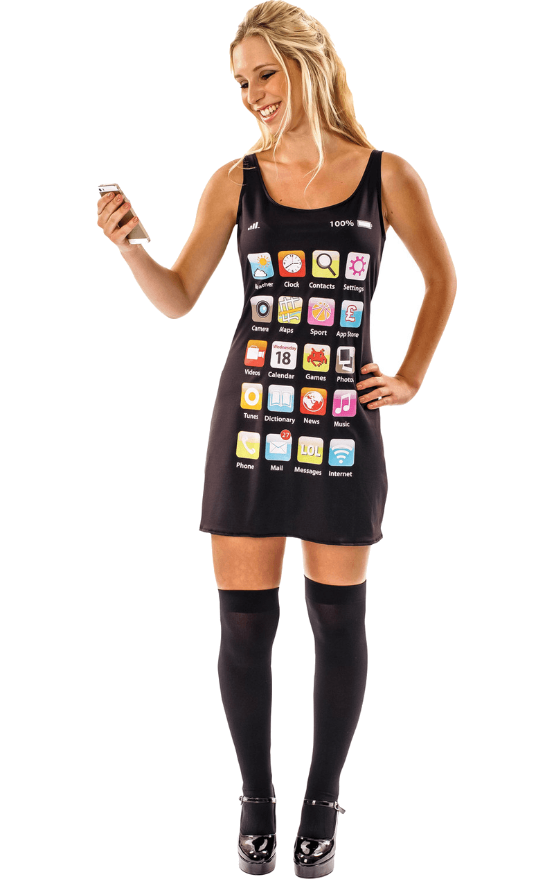 Adult Mobile Phone Dress