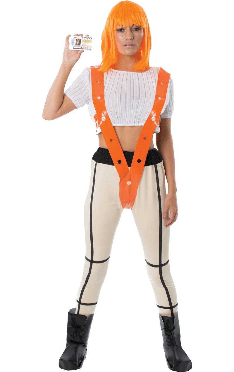 Adult The Fifth Element Leeloo Costume