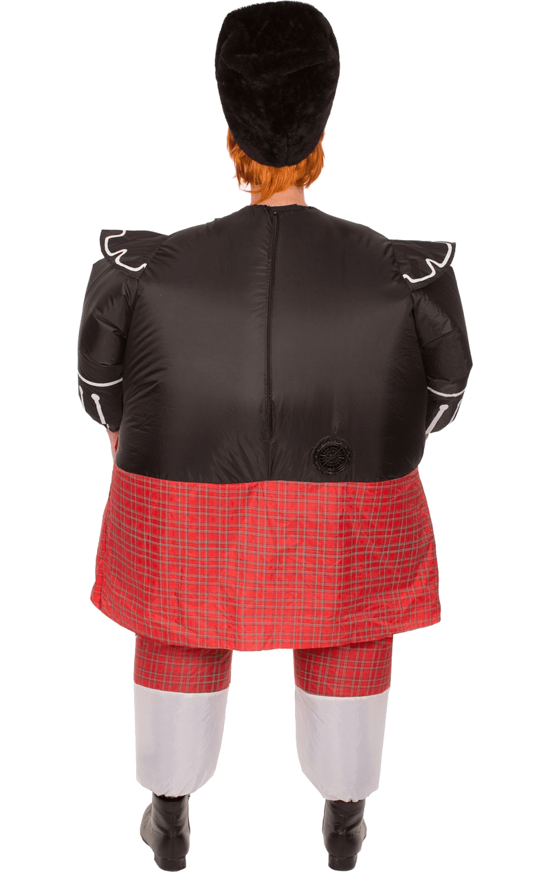 Adult Inflatable Fat Scot Costume