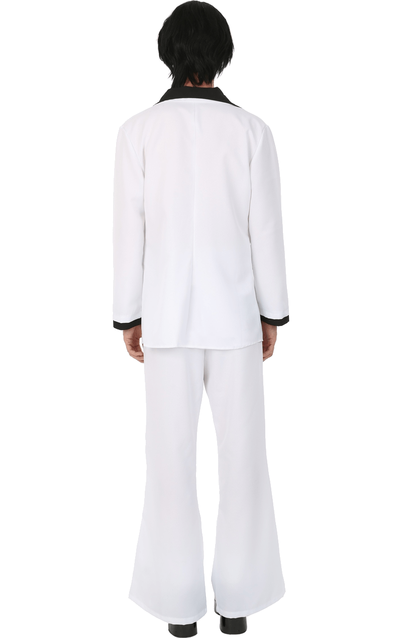 Adult White 70's Suit Costume