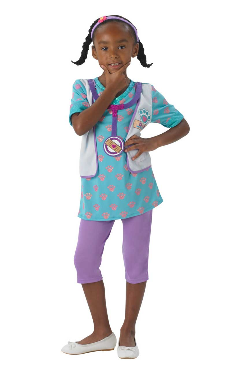 Child Disney Doc McStuffins Pet Vet Costume