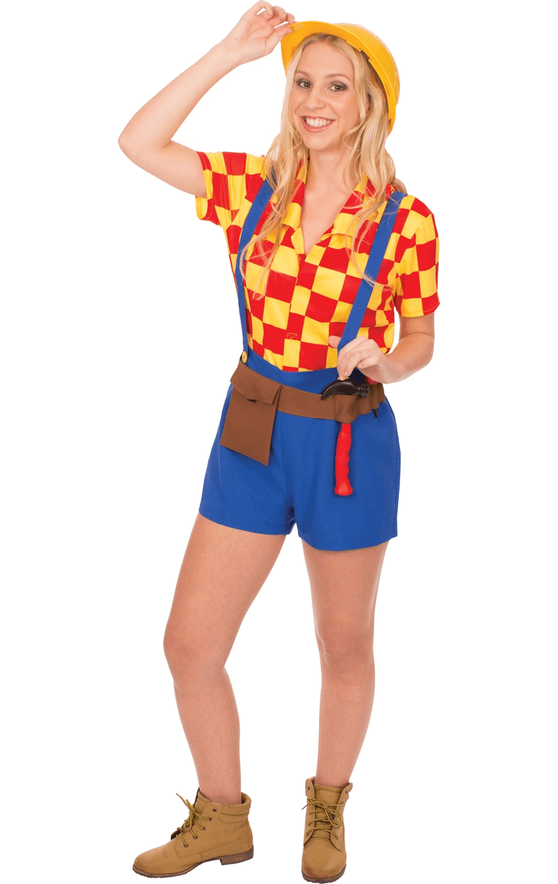 Adult Belinda The Builder Costume