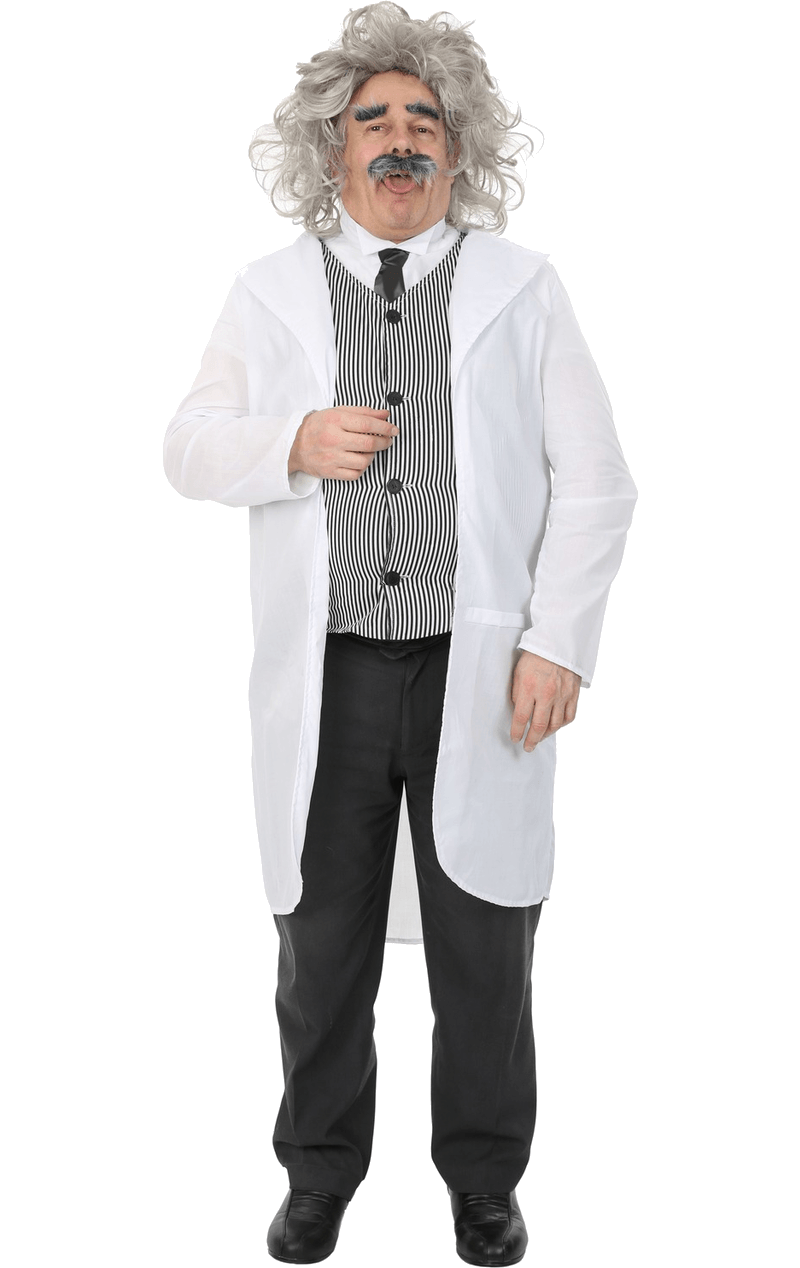 Adult Male Albert Einstein Costume