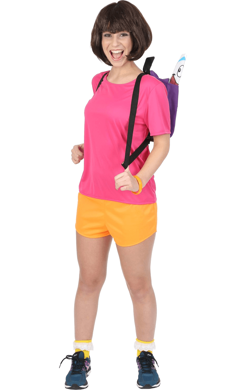 Adult Female Hispanic Explorer Costume