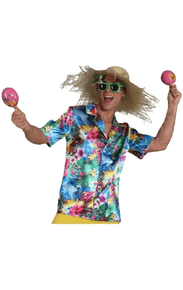 Adult Mens Hawaii Shirt