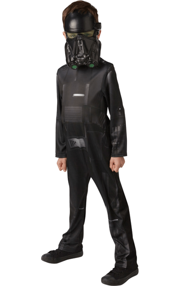 Child Death Trooper Classic Age 9+ Costume