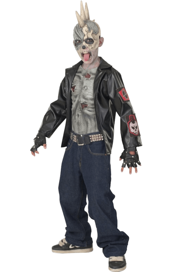 Child Punk Zombie Costume