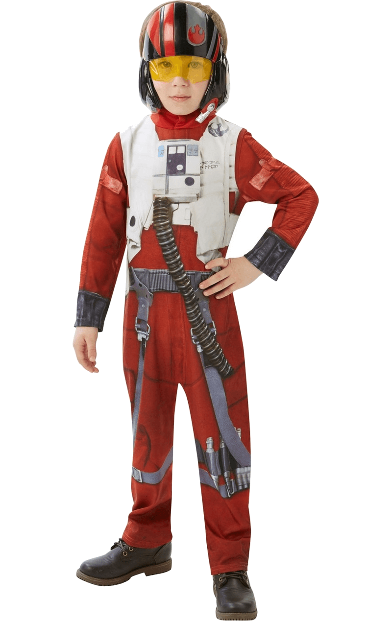 Star Wars Child Poe (X-Wing Fighter) Classic Costume