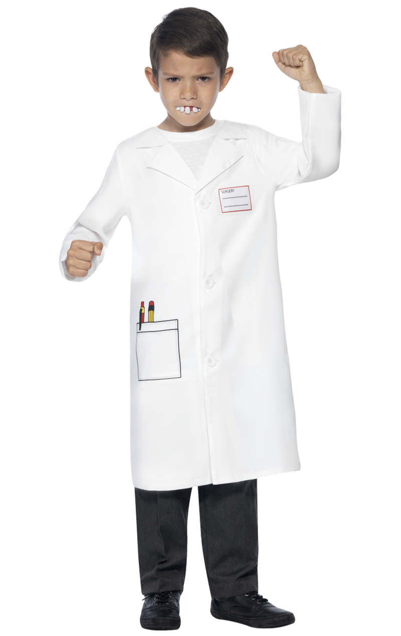 Child Dentist Costume Kit