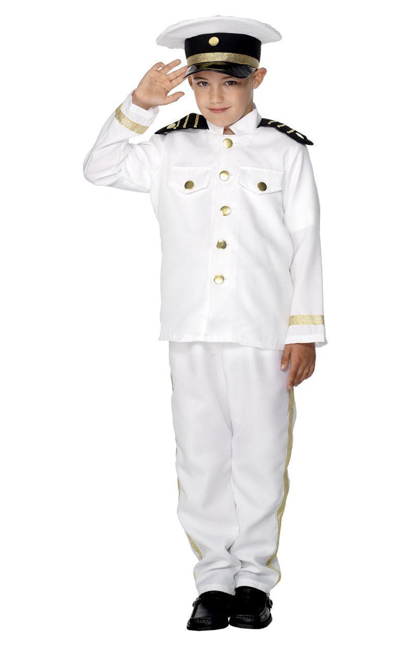 Child Captain Costume