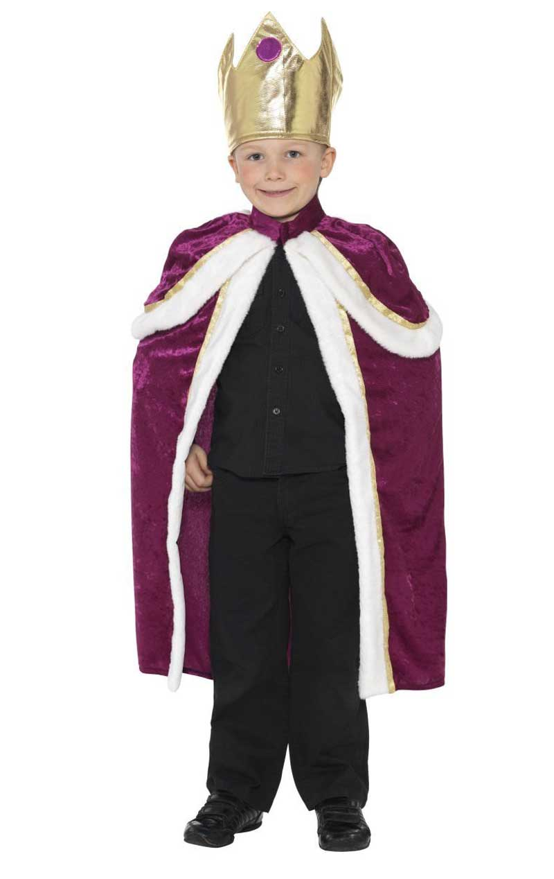 Child Kiddy King Costume