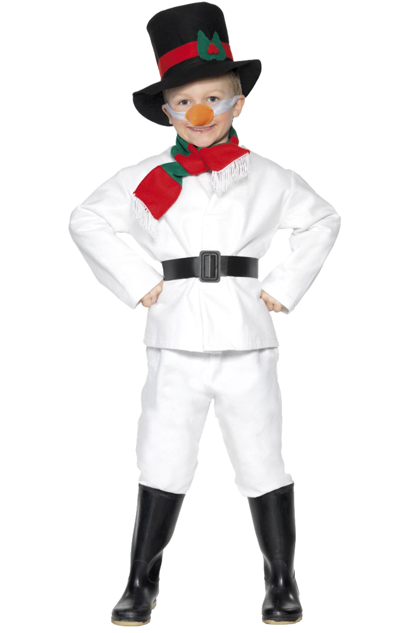 Child Mr Snowman Costume