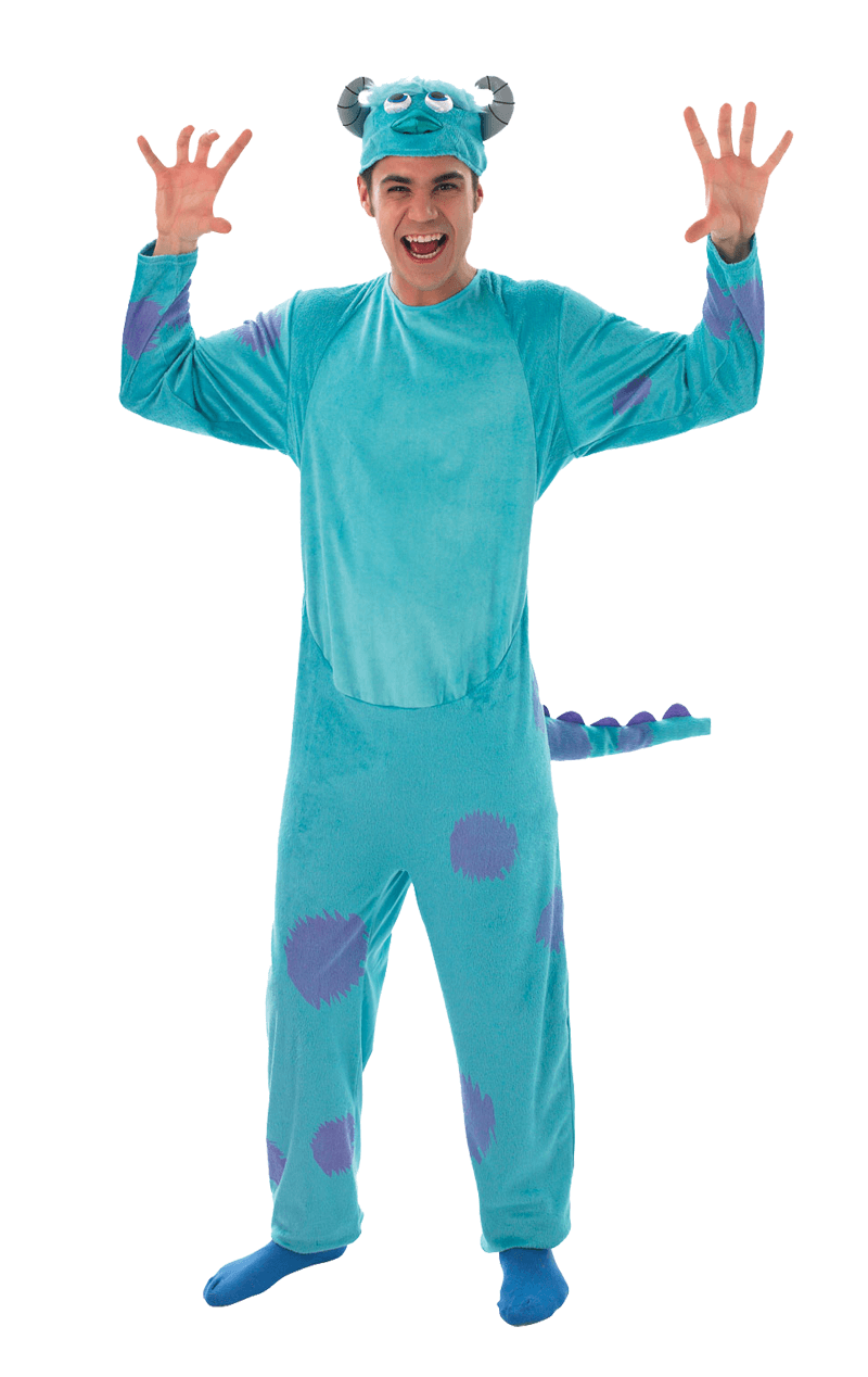 Adult Monsters University Sulley Costume