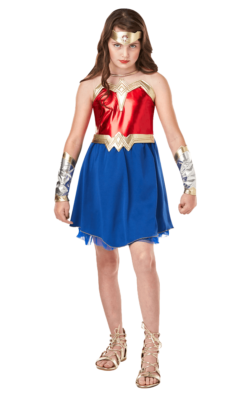 Tween Dawn Of Justice Wonder Woman Costume