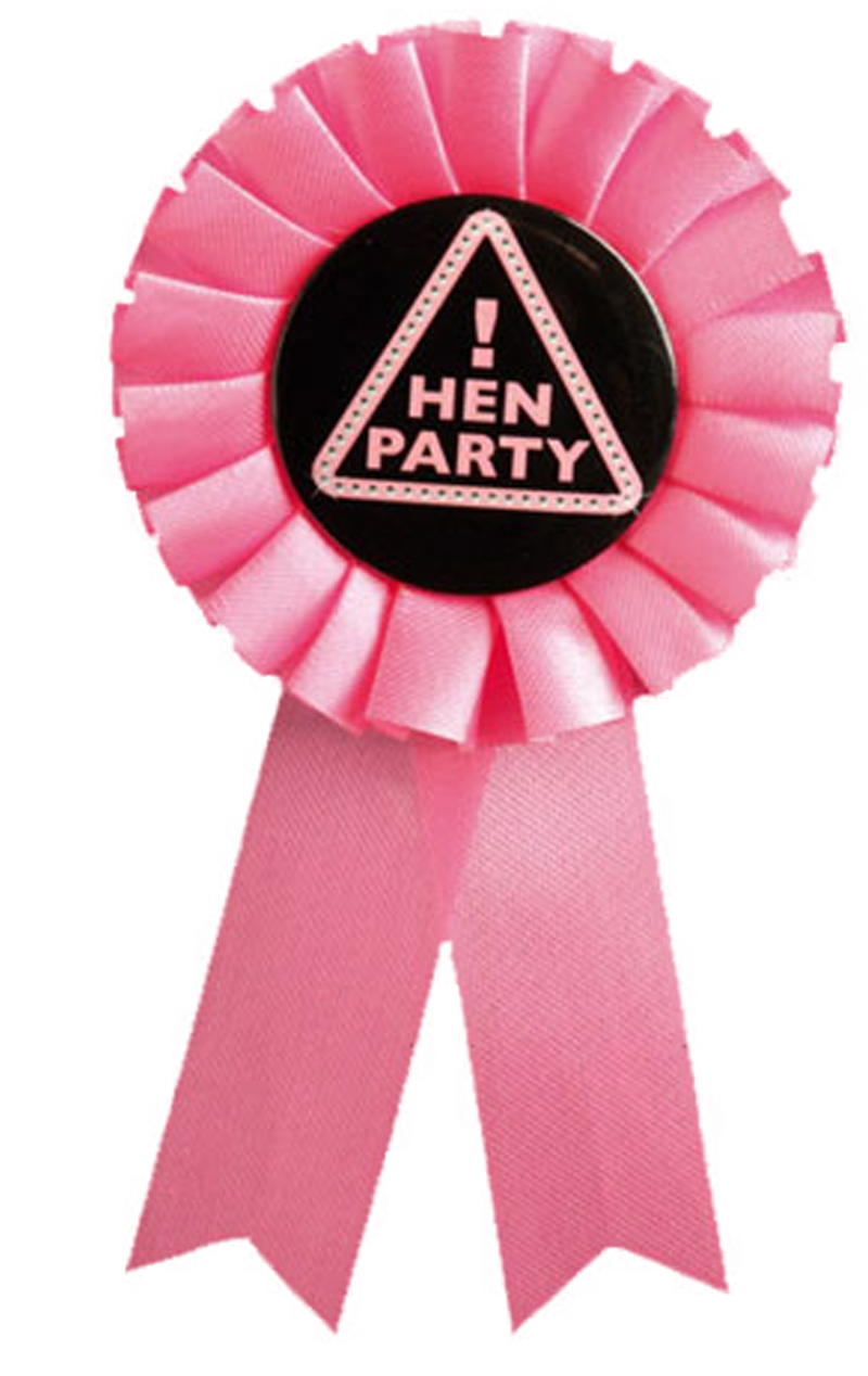 Hen Party Rosette Accessory