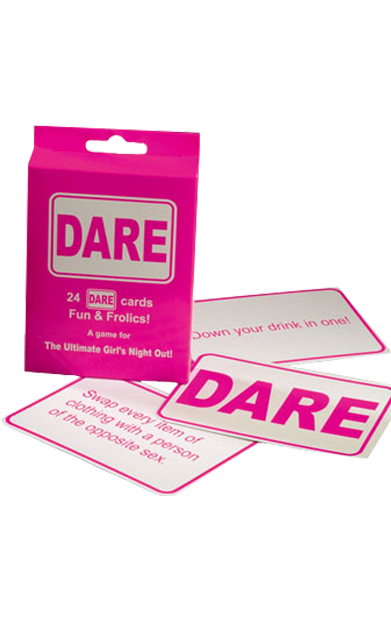 Dare Cards in Pink Accessory