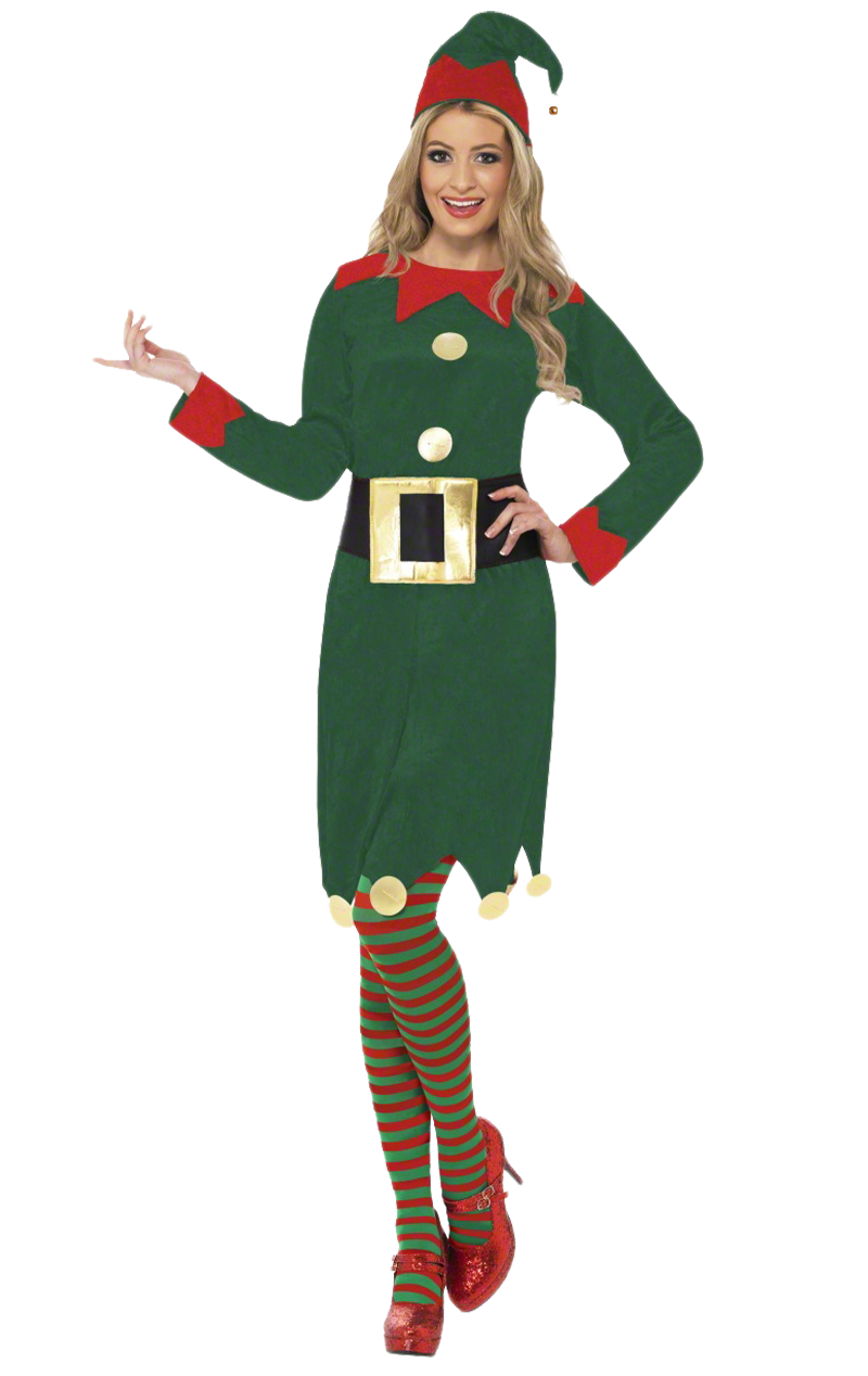 Ladies' Elf Costume