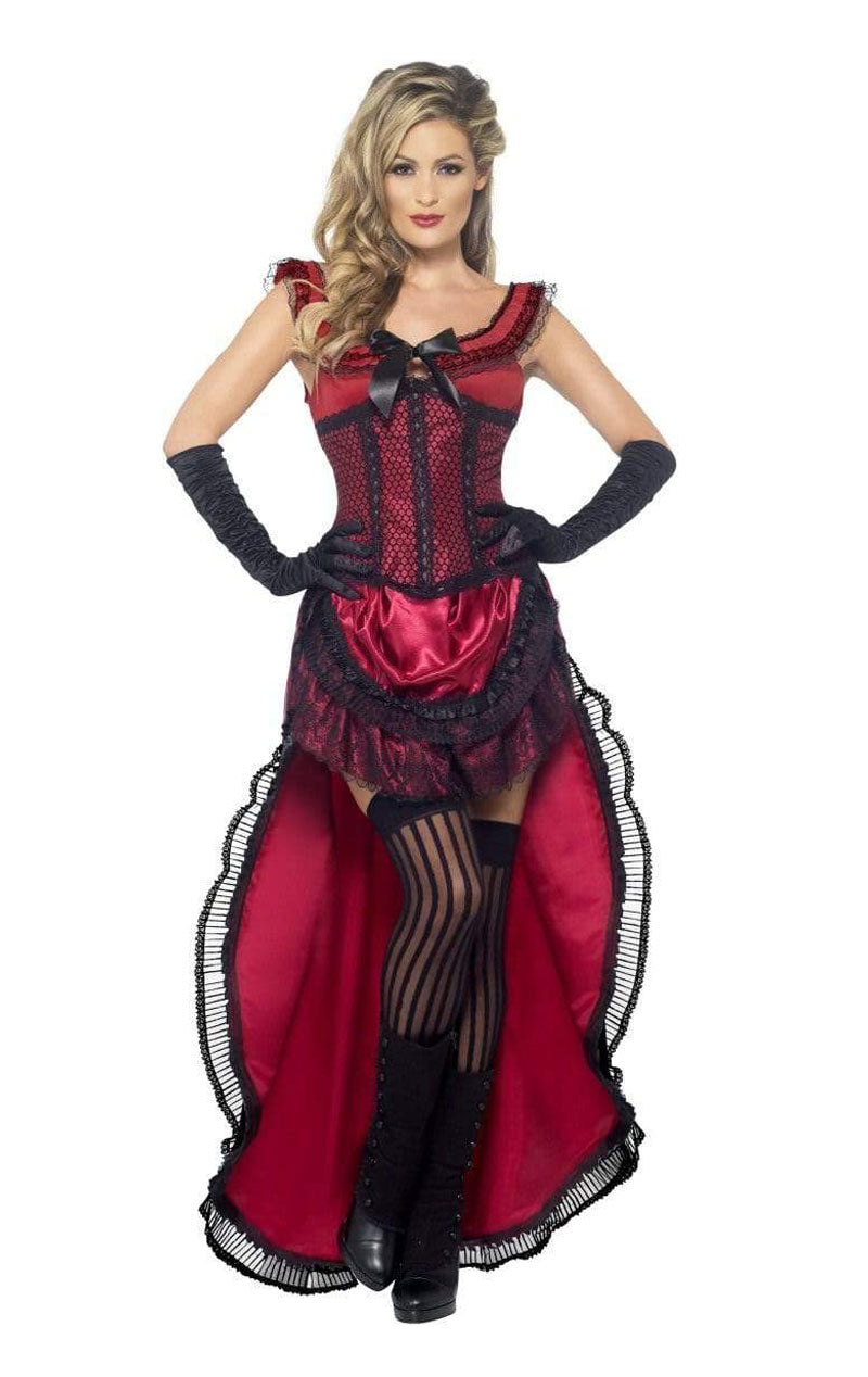 Western Authentic Brothel Babe Costume