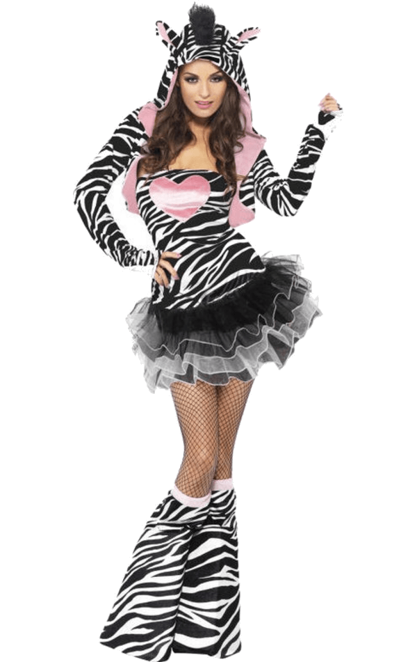 Fever Zebra Costume