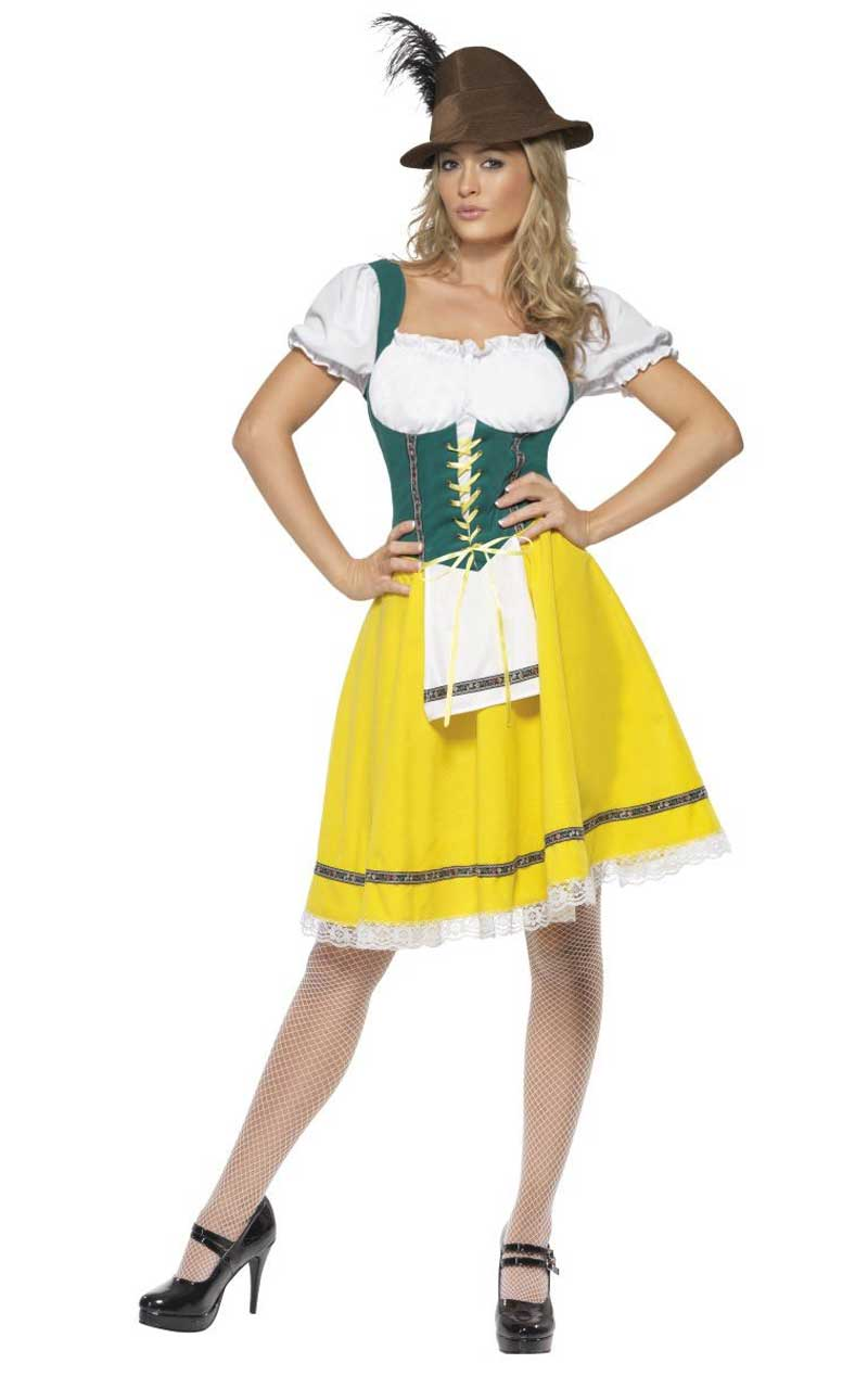 Ladies Adult Oktoberfest Costume