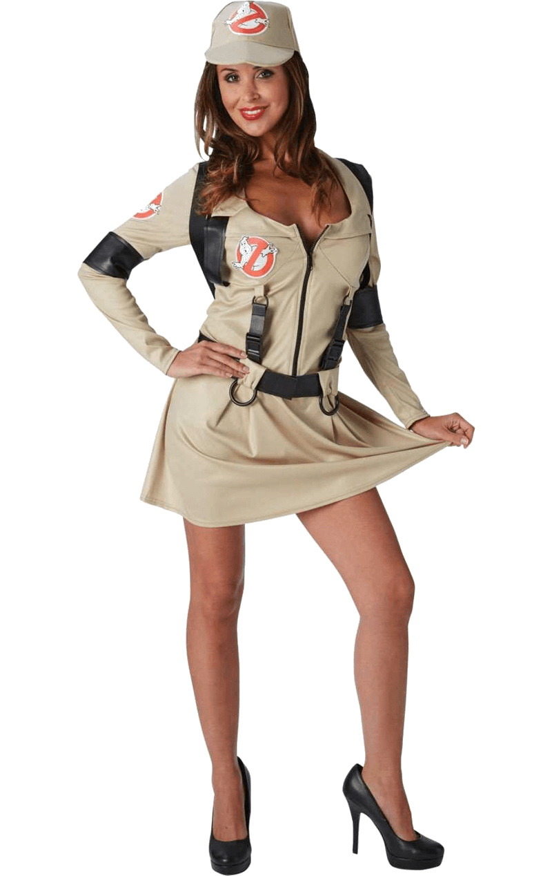 Adult Female Ghostbuster Dress Costume