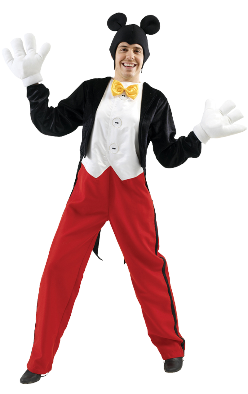Adult Disney Mickey Mouse Costume