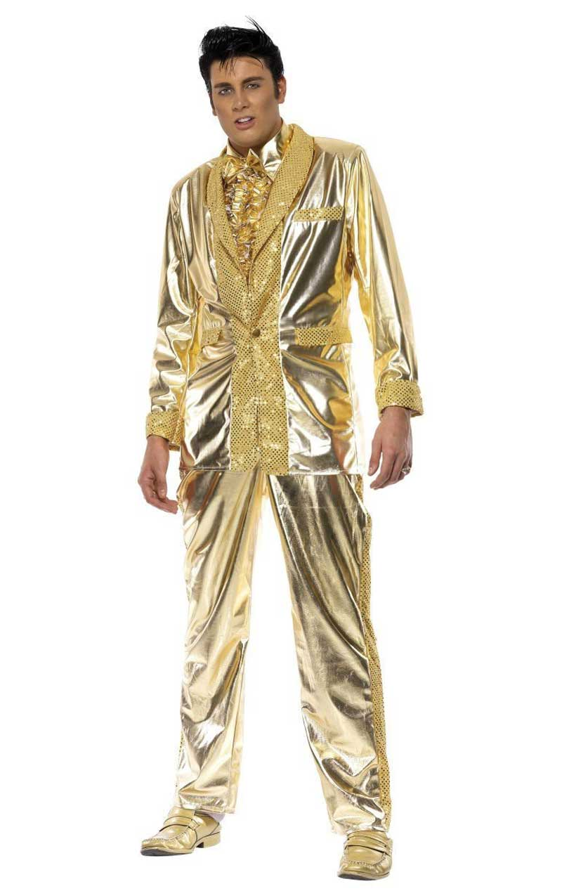 Elvis Costume (Gold)