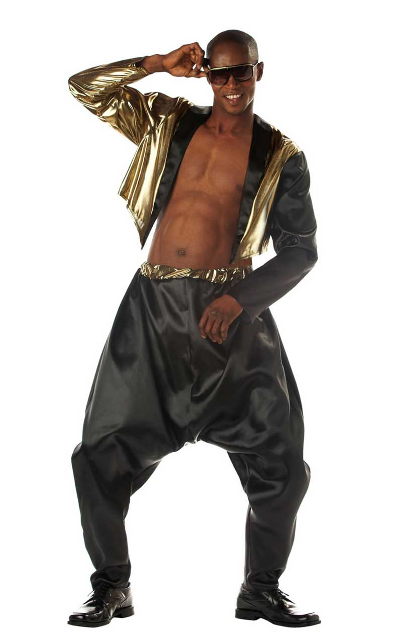 Adult Old School Rapper 80s Costume